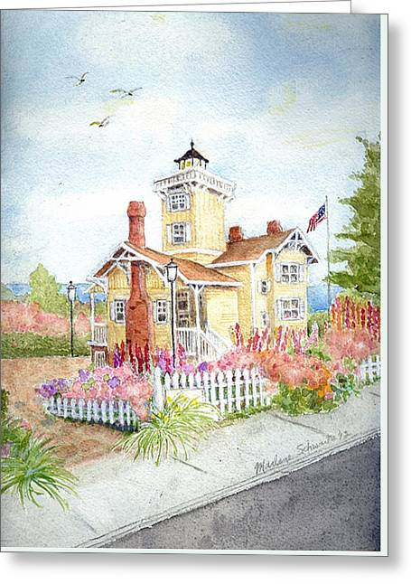 Hereford Inlet Lighthouse Greeting Card