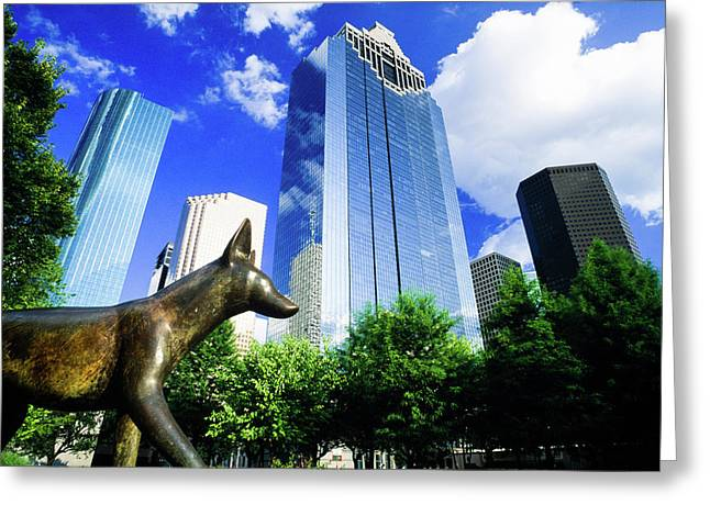 Heritage Park, Houston, Texas Greeting Card