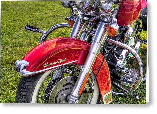 Heritage Softail Greeting Card