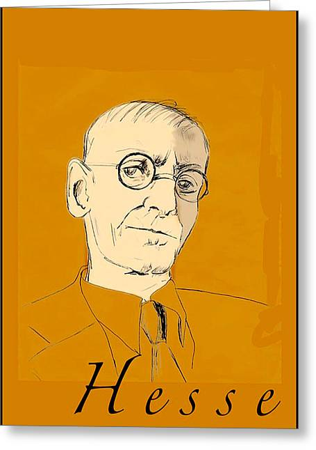 Herman Hesse Greeting Card