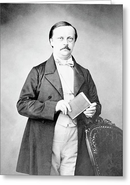 Hermann Helmholtz Greeting Card