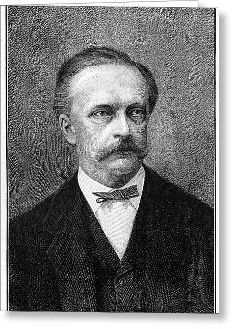 Hermann Von Helmholtz Greeting Card by Cci Archives