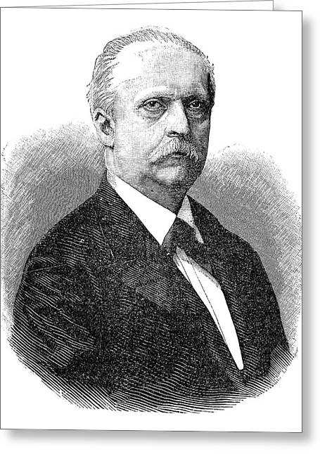 Hermann Von Helmholtz Greeting Card by Science Photo Library