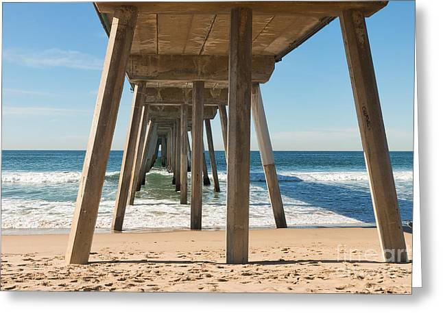 Hermosa Beach Pier Greeting Card