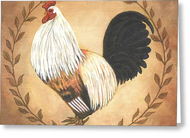 Hero The Rooster Greeting Card