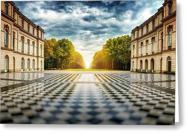 Herrenchiemsee Palace. Greeting Card by Juan Pablo De
