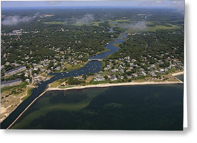 Herring River, Harwich Greeting Card by Dave Cleaveland