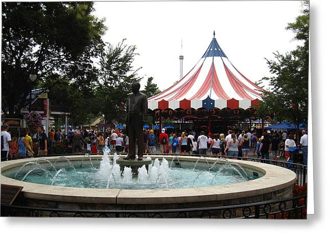 Hershey Park - 12121 Greeting Card by DC Photographer