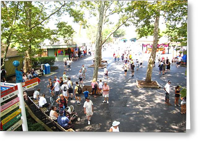 Hershey Park - 121211 Greeting Card by DC Photographer
