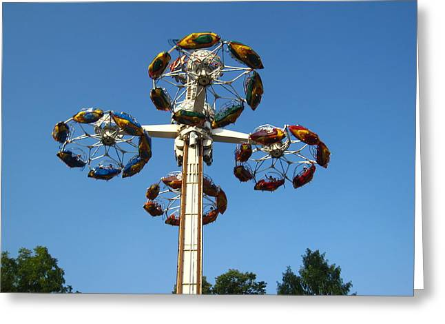 Hershey Park - 121216 Greeting Card by DC Photographer