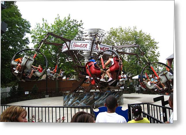 Hershey Park - 12123 Greeting Card by DC Photographer