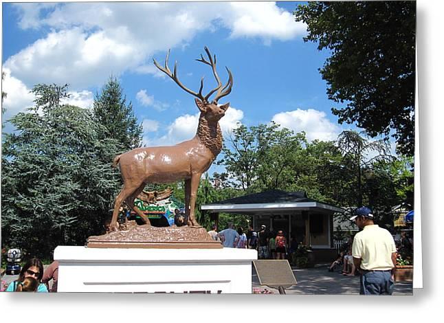 Hershey Park - 121247 Greeting Card