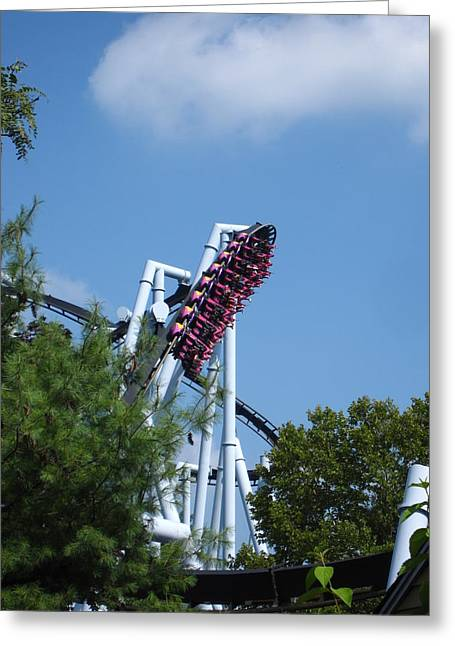 Hershey Park - Great Bear Roller Coaster - 121212 Greeting Card
