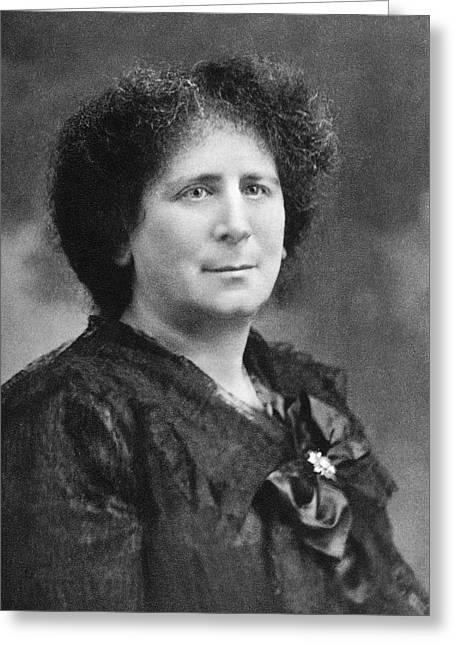 Hertha Marks Ayrton Greeting Card by Science Photo Library