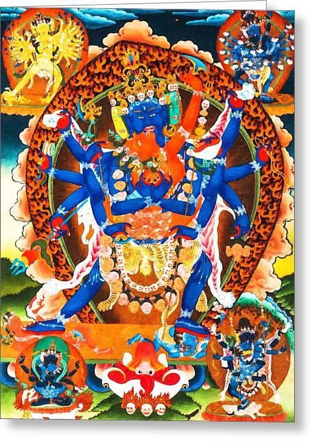 Heruka Greeting Card