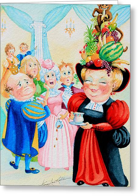 Herzats Hats 3 Greeting Card by Hanne Lore Koehler