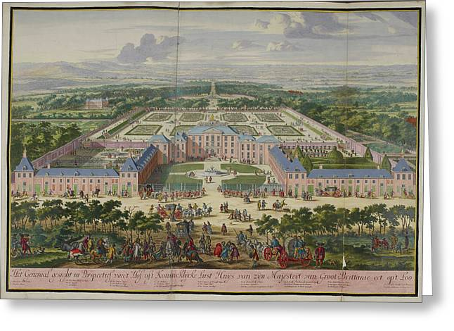 Het Loo Greeting Card by British Library