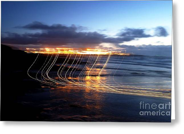 Heysham Power Station Greeting Card by C Lythgo