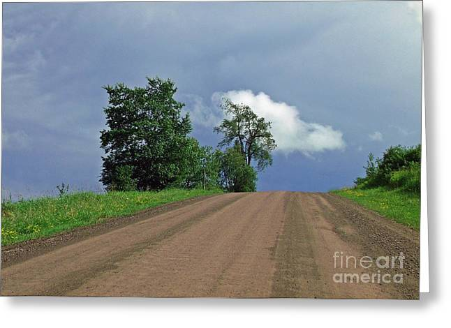 Hezelton Gulley Rd Greeting Card