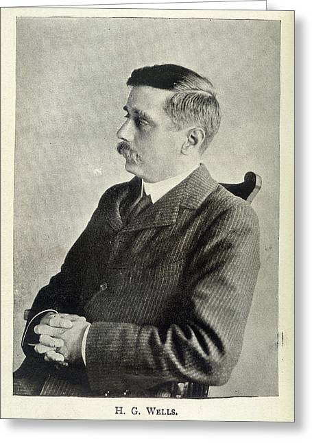 H.g.wells Greeting Card by British Library