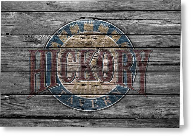 Hickory Greeting Card by Joe Hamilton