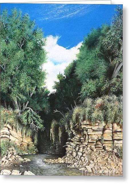 Hidden Canyon Greeting Card
