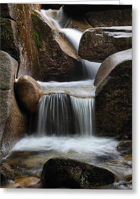 Hidden Cascade Greeting Card by Mike Farslow
