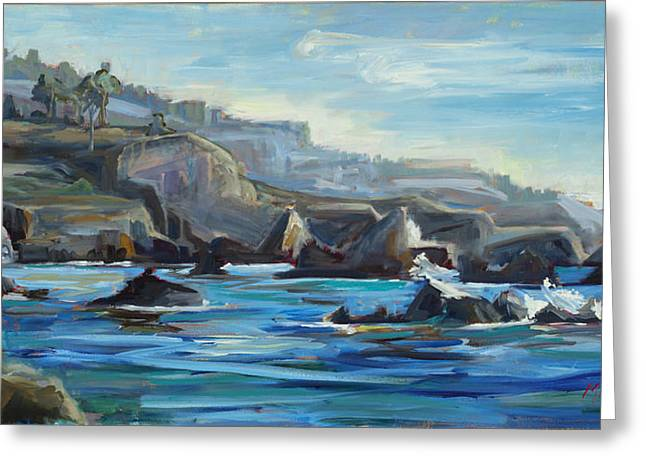 Hidden Cove  Plein Air Greeting Card
