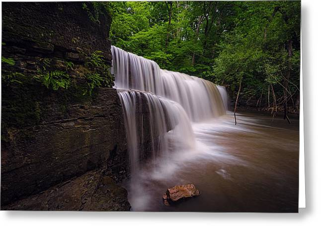 Hidden Falls Nerstrand Mn Greeting Card by RC Pics