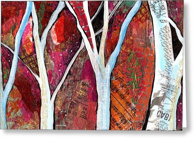 Hidden Forest I Greeting Card by Shadia Derbyshire