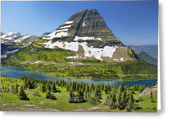 Hidden Lake In Glacier National Park Greeting Card