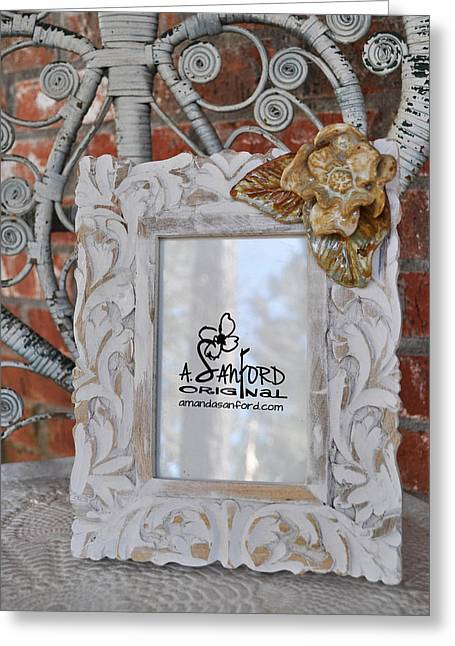 Hide And Chic Greeting Card by Amanda  Sanford