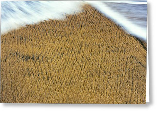 High Angle View Of Natural Pattern Greeting Card by Panoramic Images
