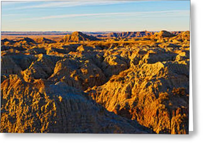 High Angle View Of White River Overlook Greeting Card