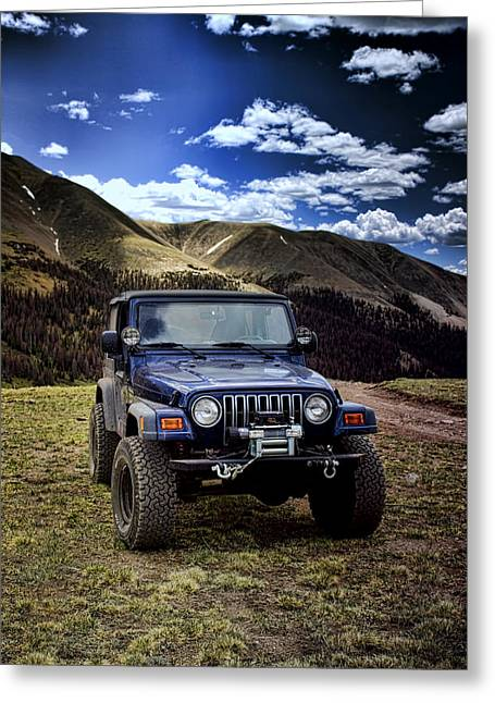 High Country Adventure Greeting Card
