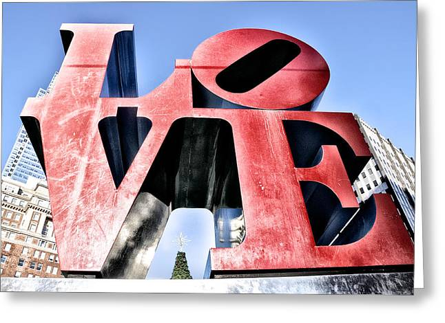 High Definition Love Greeting Card by Bill Cannon