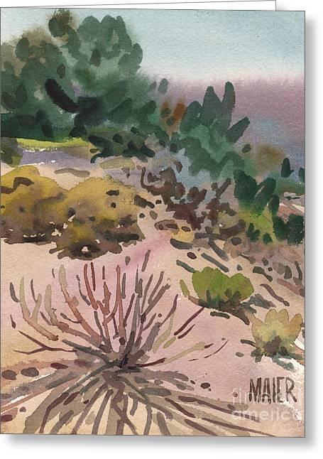 High Desert Flora Greeting Card