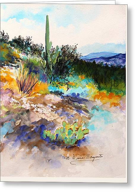 High Desert Scene 2 Greeting Card