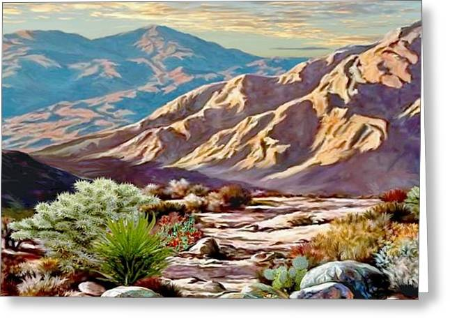 High Desert Wash Greeting Card
