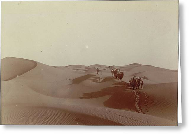 High Dunes South Of Camp 328 Greeting Card