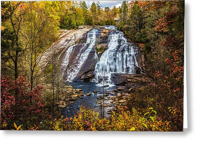 High Falls Greeting Card by John Haldane