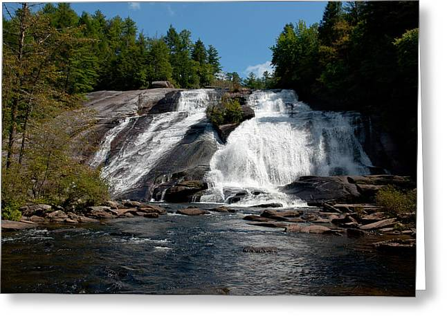 High Falls North Carolina Greeting Card