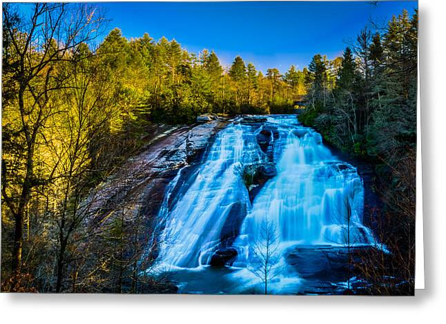 High Falls Greeting Card