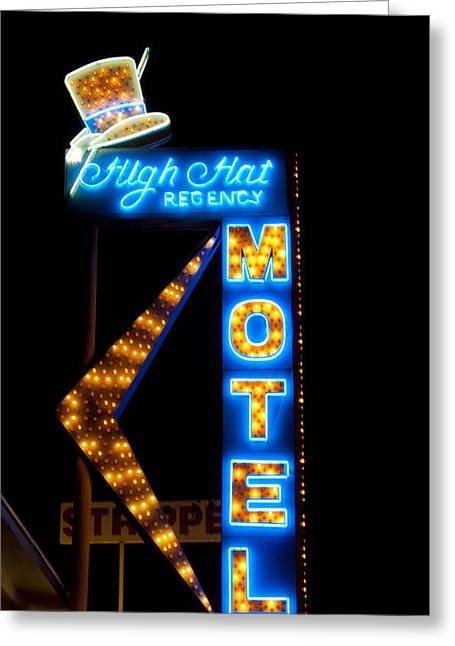 High Hat Motel In Las Vegas Photograph By Matthew Bamberg