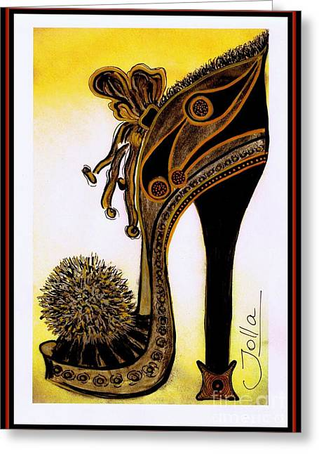 High Heel Heaven Greeting Card
