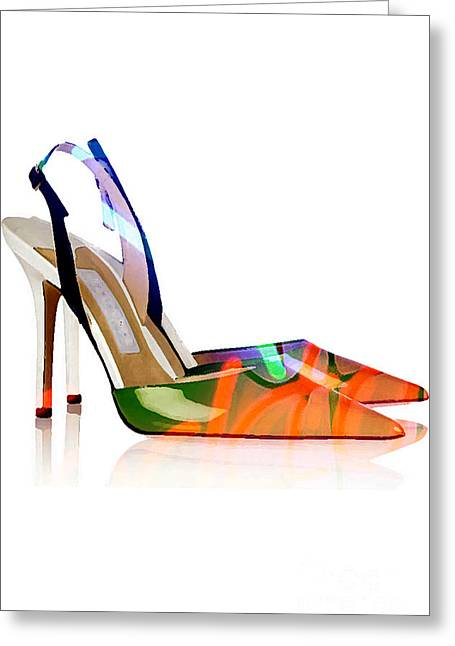 High Heel Shoes Greeting Card by Marvin Blaine