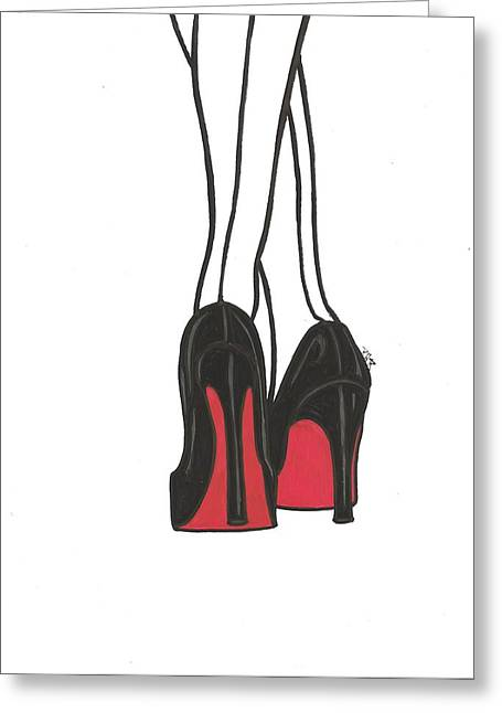 High Heels Greeting Card