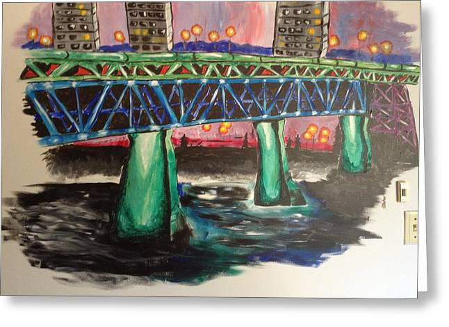 High Level Bridge Greeting Card