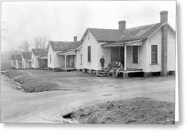 High Point, North Carolina - Housing. Homes Greeting Card