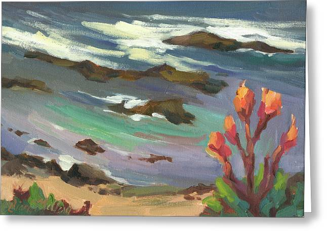 High Tide Greeting Card by Diane McClary